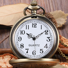 Buy Cindiry New Arrival Retro Bronze Doctor Style Quartz Pocket Watch Men women Vintage Bronze Pendant Fob Watch Chain Gift P25 for $3.09 in AliExpress store