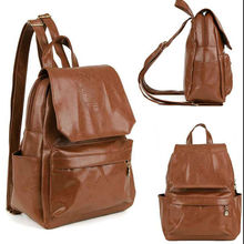 Fashion Women Backpack Casual Good PU Leather Bags Girls School Bags Backpacks For Vacation Female Outdoor One Shoulder Bags(China (Mainland))