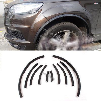 Черное колесо расширители колесных арок Чехлы Арка отделка подходит для Ауди Q7 RSQ7 2010-2013