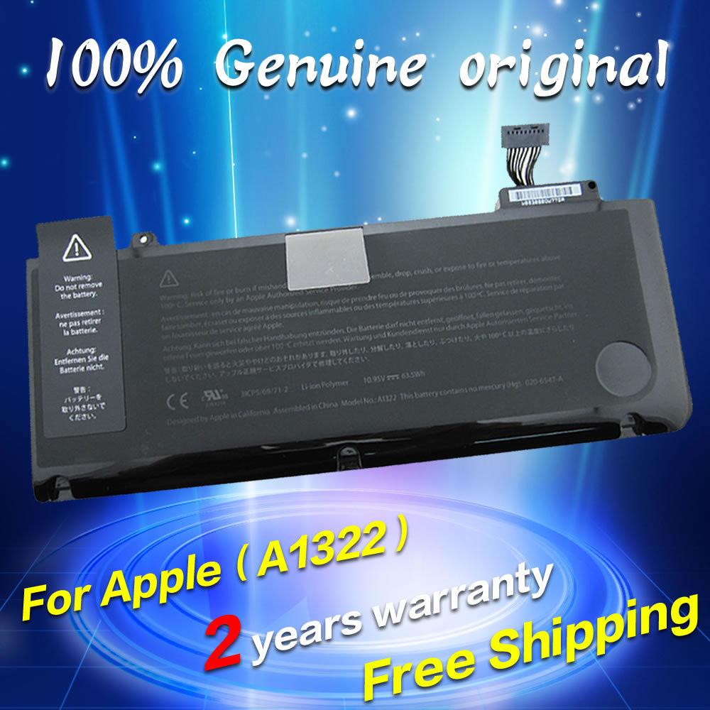 Free Shipping New For Macbook Pro Unibody 133 A1278 Lcd Hinge Baterai Original Apple A1322 13 Inchi Laptop Battery
