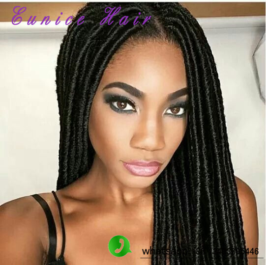Crochet Hair Over Locs : Havana synthetic dreadlocks Crochet twist Hair braids Dread Faux Locs ...