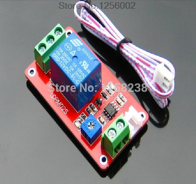 Thermistor relay control module Sensor Temperature detection Temperature control switch 5 v 12 v is onal