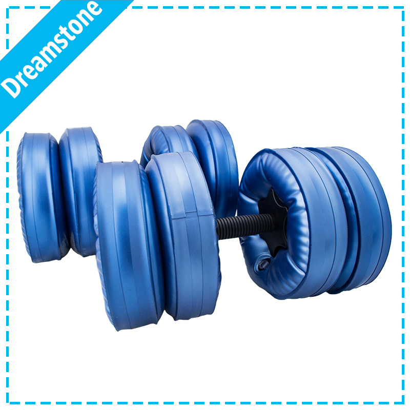 Weight Adjustable Dumbbell Water Pour Dumbbells Gym equipment For Fitness And Bodybuilding Exercise in Home & outside(China (Mainland))