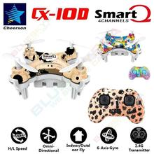 Free shipping!Cheerson CX-10D Mini 2.4G 4CH 6-axis High Hold Mode LED RC Quadcopter Drone RTF