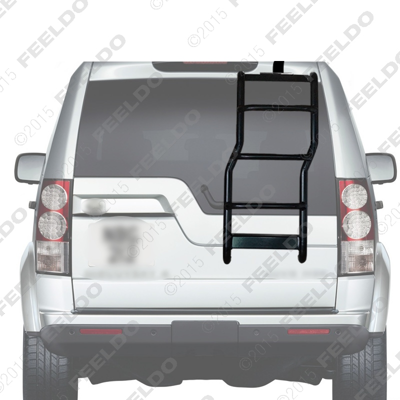 Rear Step Access / Roof Ladder / Rear door Ladder FIT For Land Rover Discovery3 Discovery4 LR3 LR4(2005-15) J-5349(China (Mainland))