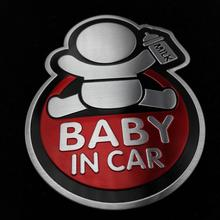 baby car aluminum sticker Volvo Ford focus VW Volkswagen JETTA MK6 GOLF 5 6 7 skoda fabia Chevrolet Cruze H - 888RUN store