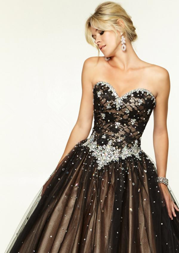 Aliexpress.com : Buy Long Puffy Prom Dress Ball Gown Tulle ...