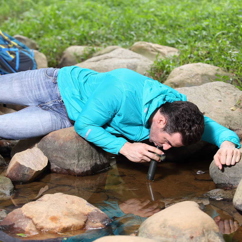 outing tours equipment safety water supplies survival straw camping kit fresh water filter