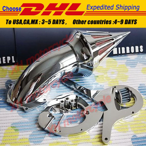 motorcycle partsSpike Air Cleaner Kits filter for   Aero 750 VT750 all year 1986-2012 Chrome<br><br>Aliexpress