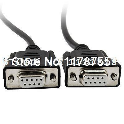 7.9Ft Female RS232 DB9 9 Pin PLC Programming Cable Cord for Allen Bradley SLC(China (Mainland))