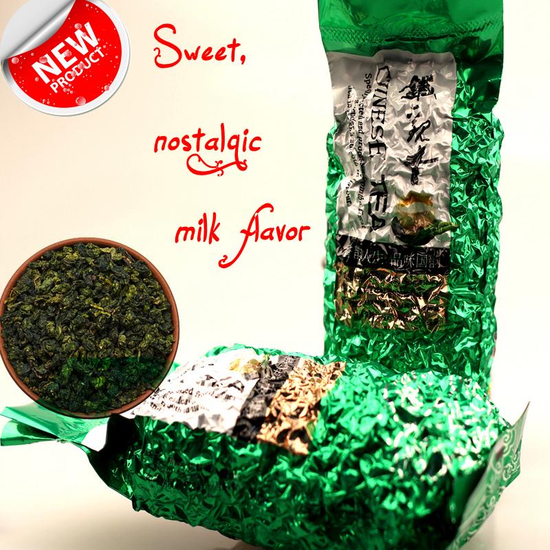 2015y Milk Oolong Tea Taiwan high mountains Jin Xuan Milk Oolong Tea wulong milk tea green