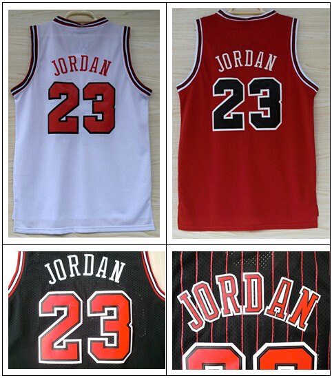 Chicago 23 Michael Jordan throwback Adult Stitched Brand Embroidery Logos Basketball Singlets Jersey Free shipping S-XXL(China (Mainland))