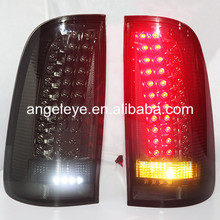 For TOYOTA HILUX VIGO LED Tail Light 2008 to 2014 year Smoke Black Color YZ