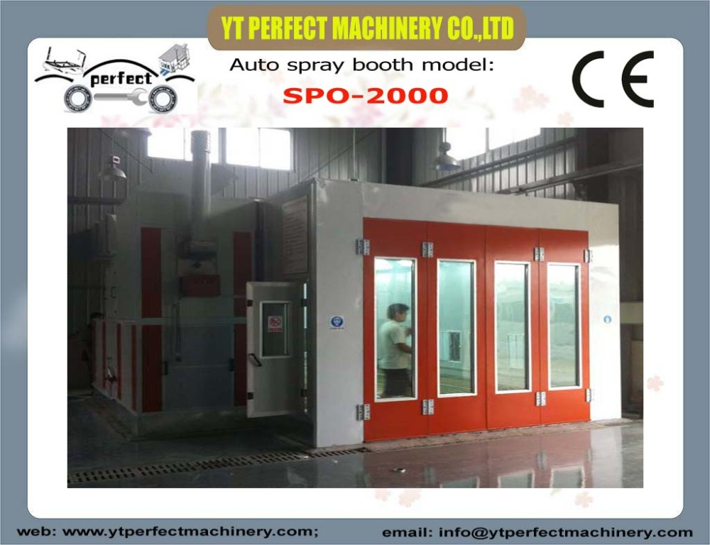 SPO-2000 car painting spray booth automotive paint booth portable spray booth(China (Mainland))