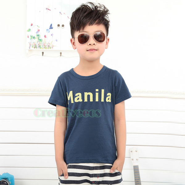 Stylish-Fashion-Child-s-Kids-Toddlers-Boys-Letters-Dark ...