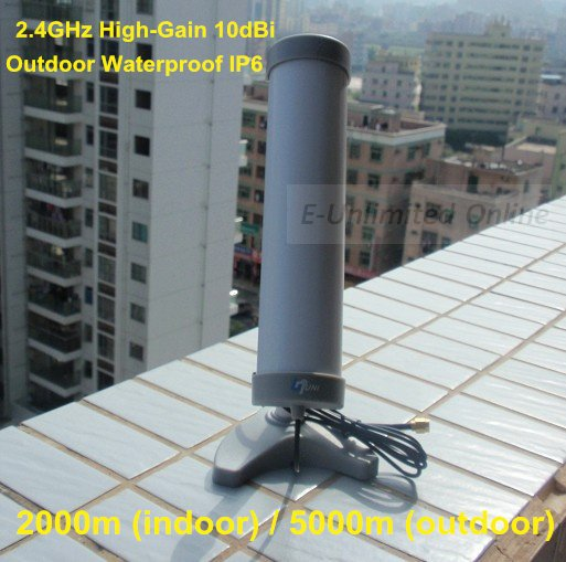 2.4GHz High-Gain 10dBi Base Station Antenna WIFI Outdoor SMA Directional,Waterproof Outdoor Antenna,Free Shipping By FedEx(China (Mainland))
