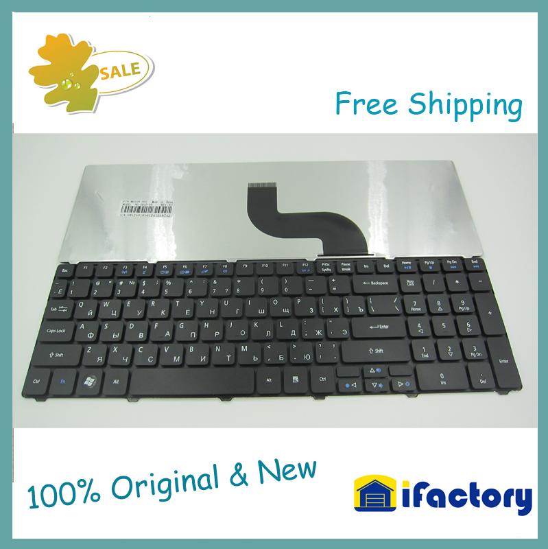 Russian Keyboard for Acer Travelmate 5740 5742 Aspire E1 521 531 571 E1-521 E1-531 E1-531G E1-571 E1-571G RU Black keyboard(China (Mainland))