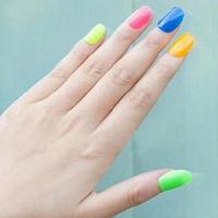 20colors  Popular Luminous paint Nail Polish nail art / Fluorescent nail varnish Enamel 10Pcs/Lot