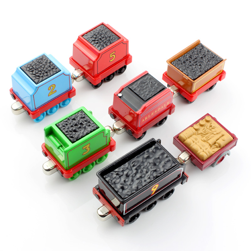 1pcs Children thomas and friends trackmaster trains tender railway carriages car magnetic Engine Diecast kids metal model toys(China (Mainland))