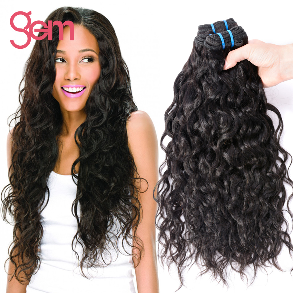 Brazilian Natural Wavy Weave Hair Extensions Richardson