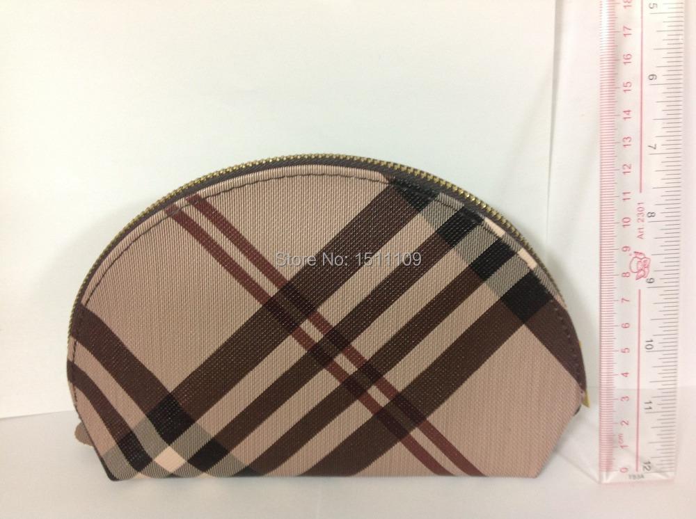 2014 Striped PU Make Up Bag and Cosmetic Bag and Dressing Bag(China (Mainland))