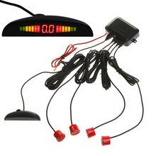Горяч-продавая парктроник обратный системы резервирования радар монитор с подсветкой дисплея 4 датчики 6 цветов оптовая продажа