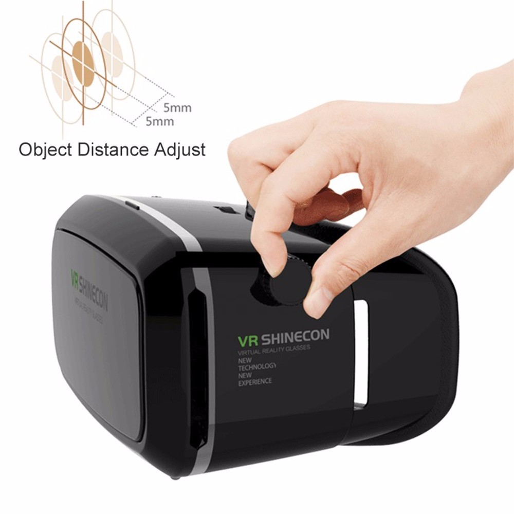 - HTB1Ak - VR Box Shinecon 1 VRBOX Casque Video 3D Gerceklik Google Cardboard Virtual Reality Goggles 3D Glasses Headset Smartphone Helmet