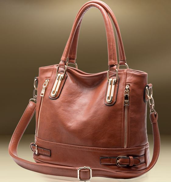 2016 Hot Sale New Fashion Brand GENUINE LEATHER Handbag Women Vintage Tote Cow leather Stylish Shoulder Messenger Bag Vintage(China (Mainland))