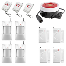 Buy Intelligent Wireless Remote control Home Alarm System Simple Setting Home Security Protection Burglar Anti-theft Alarm for $48.78 in AliExpress store