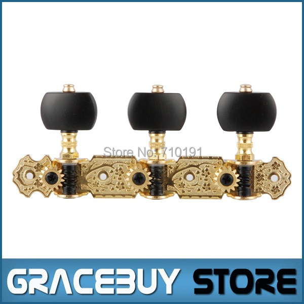 Alice AOS-020V3 Classical Nylon String Guitar Tuning Key Gold-Plated Tuning Pegs Tuners Machine Head<br><br>Aliexpress