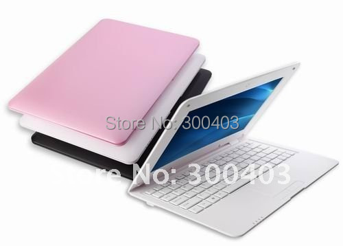 DHL Super slim 10'' inch A10 1.5GHZ DDR3 1G 4GB,WIFI,webcam Android 4.0 mini laptop,netbook notebook,Best Christmas Gift(China (Mainland))
