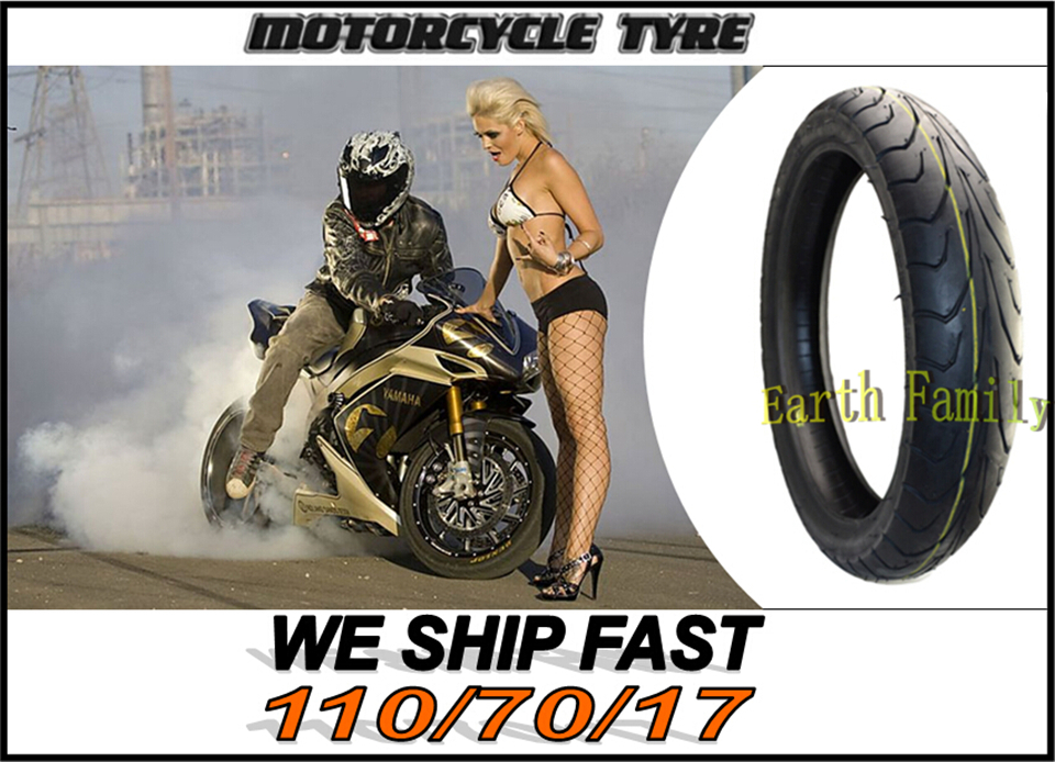 Motorcycle Road Tubeless vacuum tires tyres for motocross cross motorcycle front tire tyre 110/70/17 110/70-17 110 / 70 / 17