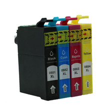 free shipping 20 PCS 5 SET T0881 T0882 T0883 T0884 with chip compatible Ink cartridges for epson Stylus CX4400/CX4450/CX7400