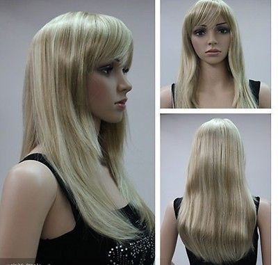 Wholesale price Hot Sell TSC ^^^^2015 Top Quality WOMENS FULL WIG Ash Blonde Sexy Mix Pale Blonde<br><br>Aliexpress