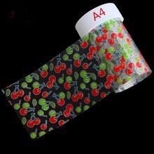 100*4 ซม.1 ขวดเล็บ DIY ตกแต่ง Fruite หัวใจ Transfer Nail Art Foils 3D (China)