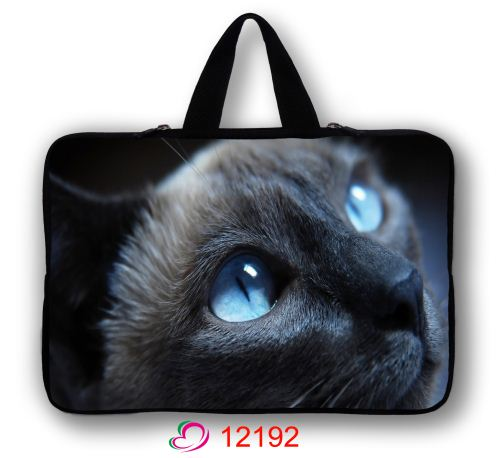 "Cool Cat 12"" Laptop Case Bag Cover For 11.6"" Inch Sony VAIO Duo 11 Serie Laptop Tablet(China (Mainland))"