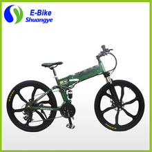 36v 26'' Magnesium Wheel Folding Electric Mountain Bike(China (Mainland))