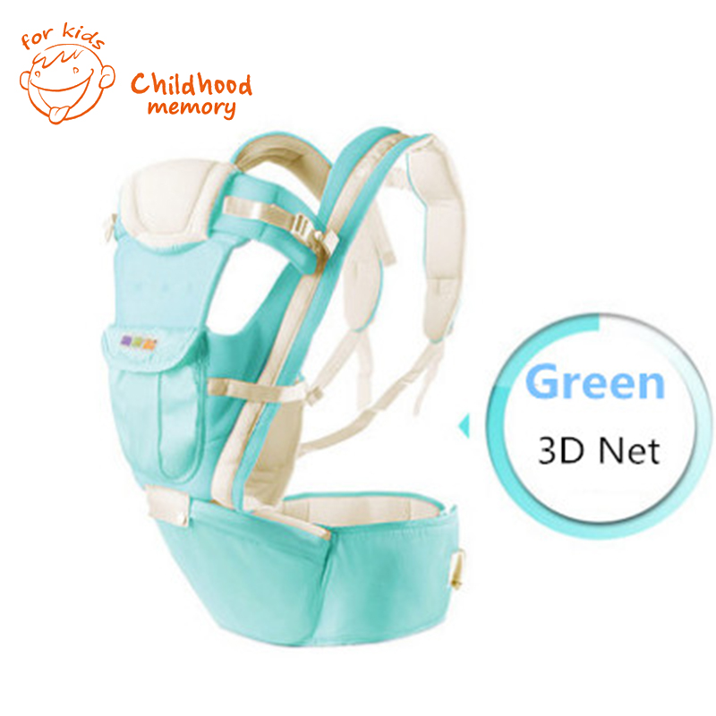 2-30 Months Breathable Baby Carriers Hip Seat 5 In 1 Backpack Multifunctional Baby Sling Toddler Hipseat Kangaroo Infantil<br><br>Aliexpress