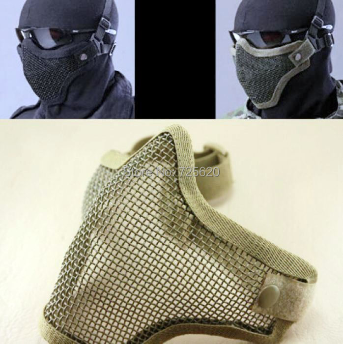 Iron Face Airsoft Mask Metal Wire Mesh Lower Half Hot Selling - Mama Love Baby store