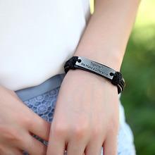 New Hot Vintage Bracelets Bangles Charm Genuine Leather Bracelets for Women Men Friendship Bracelets Fine Jewelry