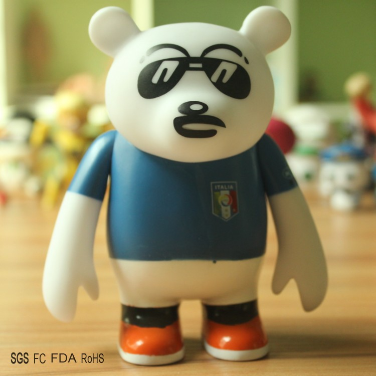 2015 New Arrival PVC Figure Toy The World Cup Bearbrick Plastic Toys for Kid PVC Action Figure Toys Christams Gift Toy Wholesale(China (Mainland))