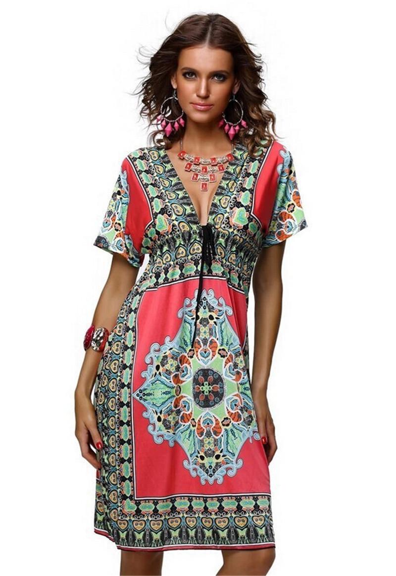 1970s Boho Hippie Fashion