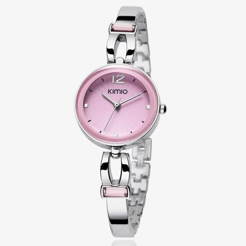 100 original Kimio brand quartz watch fashion casual women watch stainless steel ladies analog quartz watch