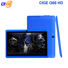 CIGE Q88 7 Inch Tablet PC Quad Core Android 4.4 Tablet 8GB ROM Dual Cam Google APP Play USB WIFI Multi-colors W/Keyboard New Hot