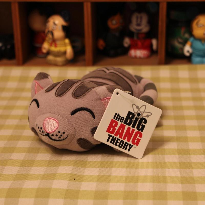 New Original The Big Bang Theory Soft Kitty Cat Mini Cute Plush Toy Doll Stuffed Animal Birthday Kids Gift Free Shipping