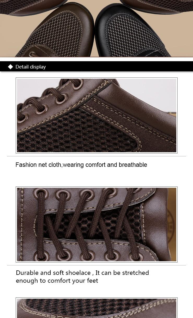 37 ~ 47 мужчин свободного покроя обувь дышащая hecrafted марка Высокое качество ретро стиль мужчины летняя обувь # 8315