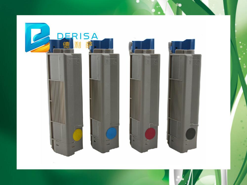 toner laser cartridge for OKI C610 C 610 For OKI C610 Color Laser Printer,Use For Okidata 44315304/03/02/01 For OKI Toner C610(China (Mainland))