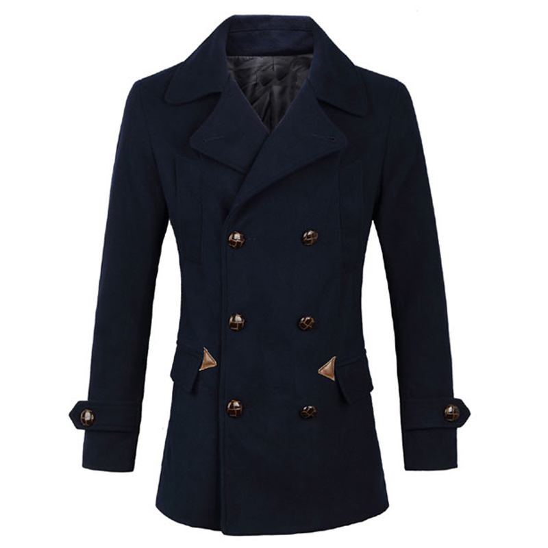 Cheap Wool Pea Coats Promotion-Shop for Promotional Cheap Wool Pea ...