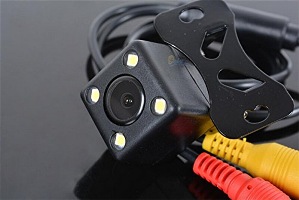HOT 170 wide angle waterproof HD CCD 4 LED Rear View Camera Parking Assistance Rear Camera Night Vision Car Backup Side Camera<br><br>Aliexpress