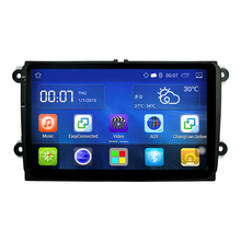 "Android 4.4 Car Radio Stereo 9 ""Capacitive Touch Screen High Definition 1024×600 GPS Navigation Bluetooth Player for VW Passat"